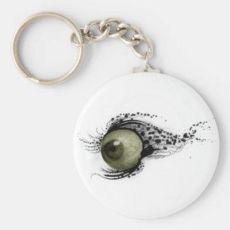 Good Eye Basic Round Button Key Ring