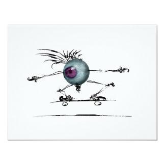 Good Eye 11 Cm X 14 Cm Invitation Card