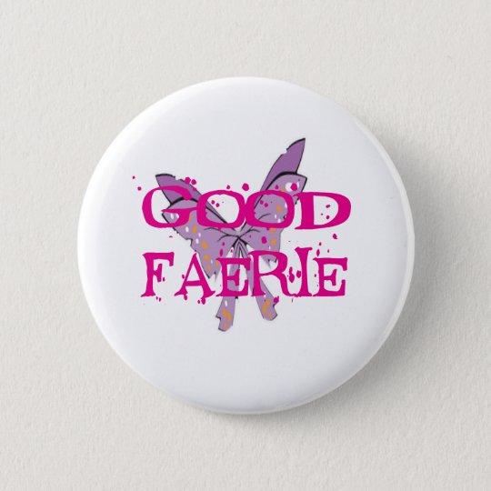 Good-Fairy 6 Cm Round Badge