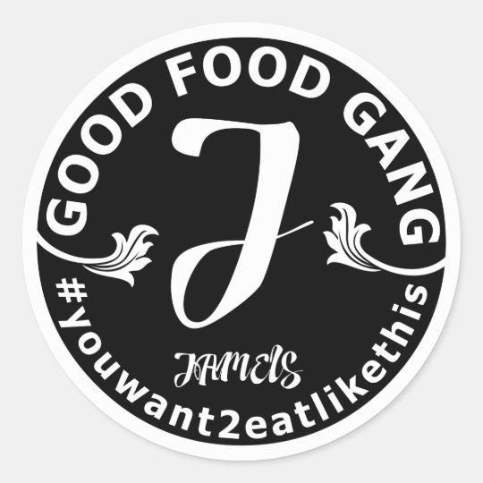 Good Food Gang/Jamels Round Sticker