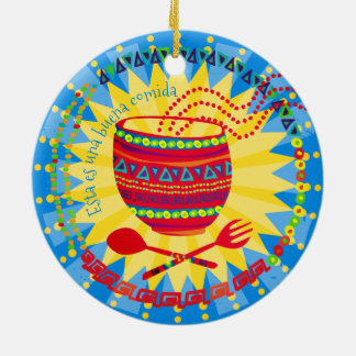 Good food Mexican culinary Christmas ornament