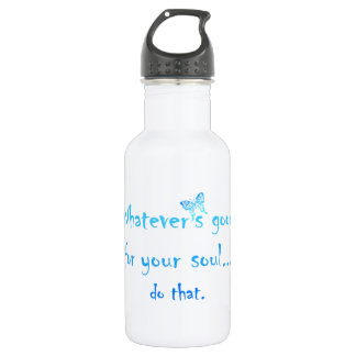 Good for your Soul Inspirational Motivation Quote 532 Ml Water Bottle