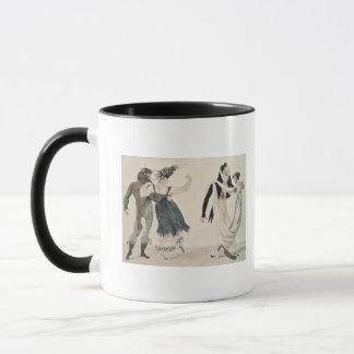 Good Form, No. 1: The Waltz, satirical cartoon Mug
