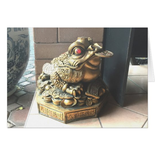 Good Fortune Frog, Chiang Mai Card