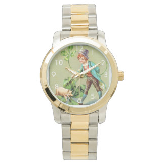 Good Fortune on St. Patrick's Day Wristwatches