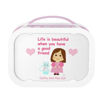 Good friendly 2 lunch box