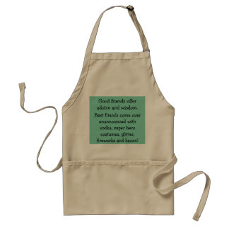 Good Friends Apron - Funny Saying