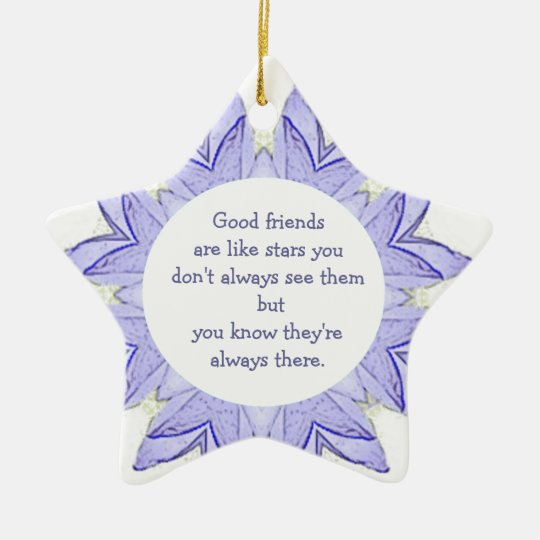 Good Friends are Like Stars Design Quote Christmas