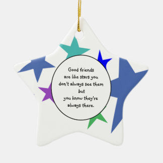 Best Friend Quotes Christmas Tree Decorations & Ornaments | Zazzle ...