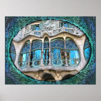 Good Gaudi! (Fine Art Print) Poster