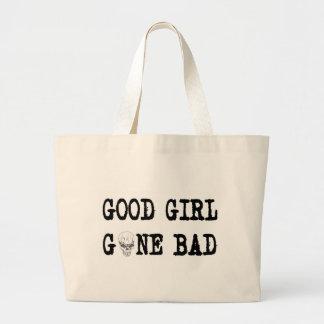 GOOD GIRL GONE BAD JUMBO TOTE BAG