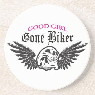 GOOD GIRL GONE BIKER DRINK COASTER