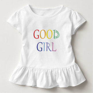 Good Girl rainbow Toddler T-Shirt