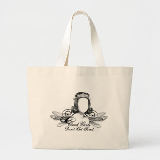 Good Girls Don't Get Fired Large Tote Bag