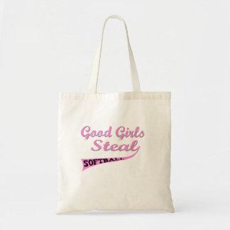 Good Girls Steal (urban pink) Budget Tote Bag