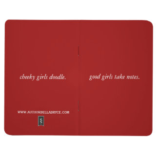 Good girls takes notes, notebook journals
