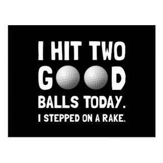 Good Golf Balls Postcard