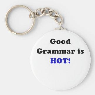 Good Grammar is Hot Keychains