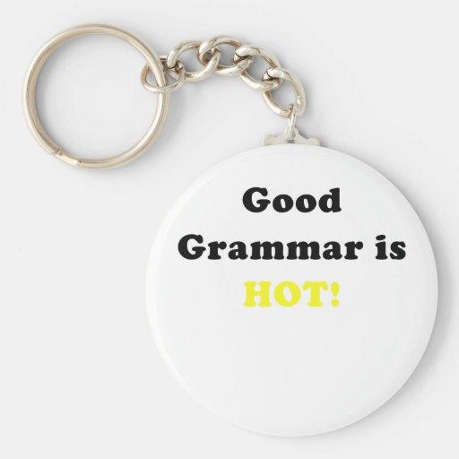 Good Grammar is Hot Key Chains