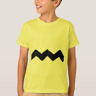 Good Grief Ziz Zaz Line Tee Shirt