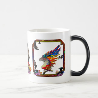 Good Hunting Eagle Arrows and Flowers Frame Mugs