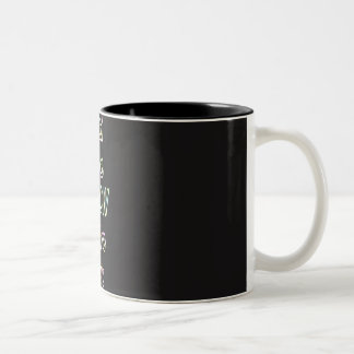 good ideas GLOW in the dark Two-Tone Coffee Mug