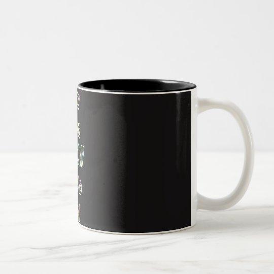 good ideas GLOW in the dark Two-Tone Coffee