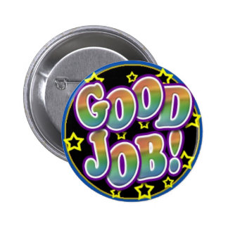 Good Job! 6 Cm Round Badge