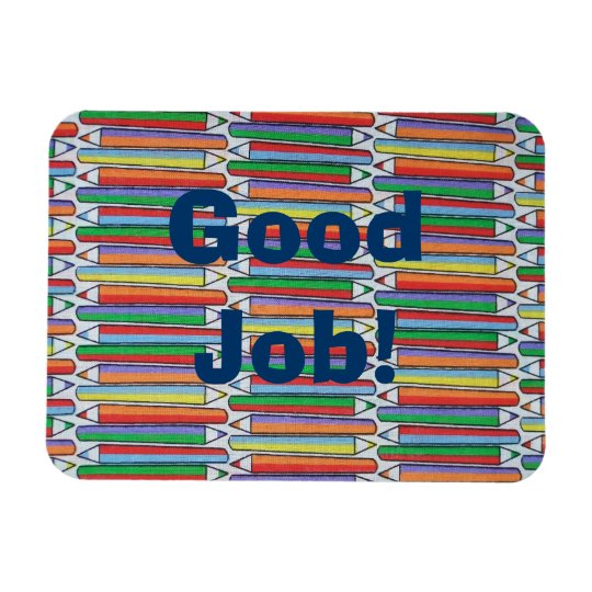Good Job Coloured Pencils Magnet Personalised