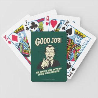 Good Job: Done Anything Stupid 5 Min. Poker Deck