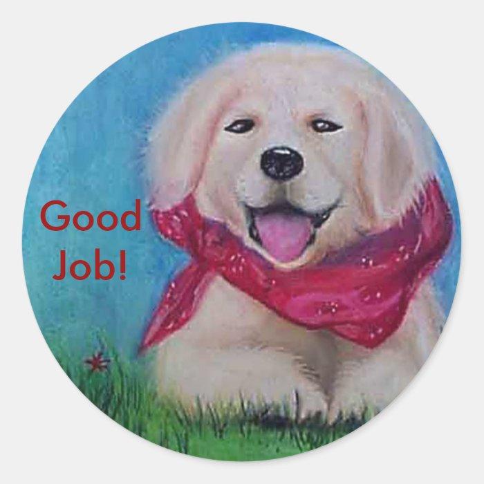 Good Job! Round Sticker