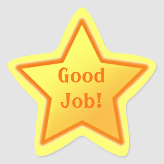 Good Job! Star Sticker