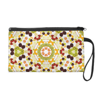 Good karma and well being from a healthy diet 2 wristlet purses
