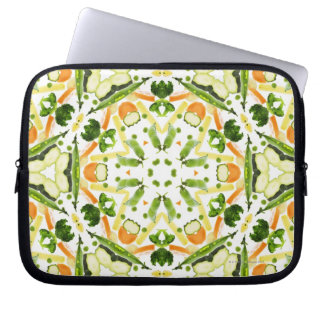 Good karma and well being from a healthy diet 3 laptop sleeve