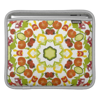 Good karma and well being from a healthy diet iPad sleeve