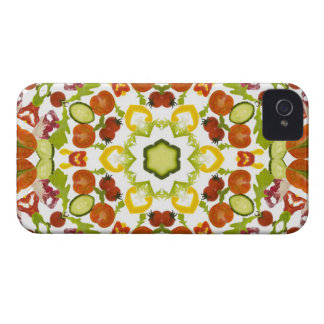 Good karma and well being from a healthy diet iPhone 4 case