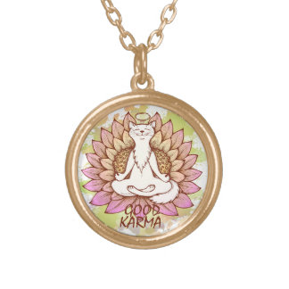 Good Karma Gold Plated Necklace
