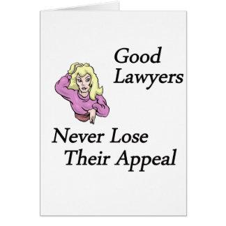 Good Lawyers Greeting Card