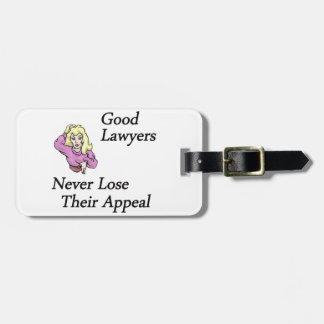 Good Lawyers Luggage Tag