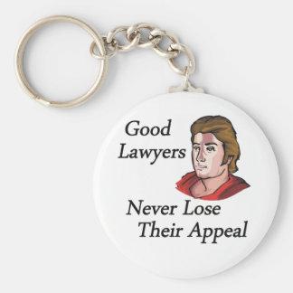 Good lawyers man key ring