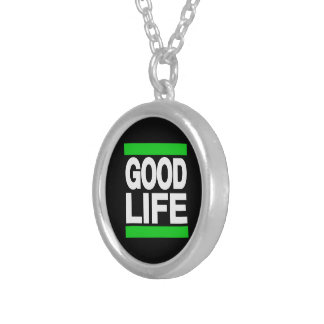 Good Life Green Personalized Necklace