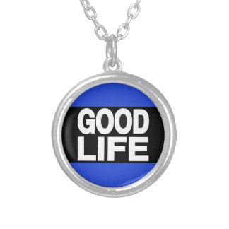 Good Life Long Blue Custom Necklace