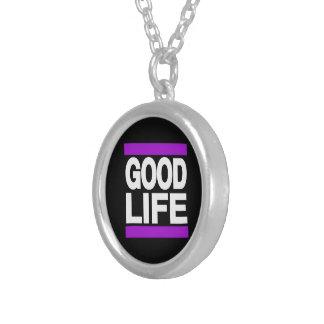 Good Life Purple Pendant