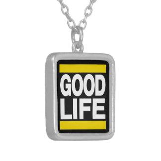Good Life Yellow Pendant