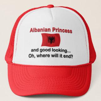 Good Lkg Albanian Princess Trucker Hat
