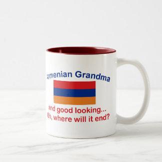 Good Lkg Armenian Grandma Two-Tone Coffee Mug