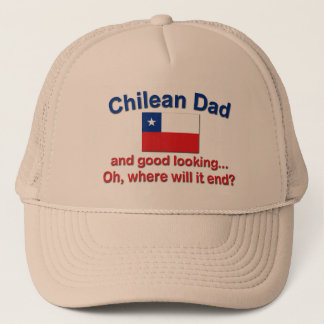 Good Lkg Chilean Dad Trucker Hat