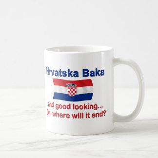 Good Lkg Croatian Baka (Grandma) Basic White Mug