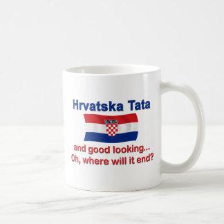 Good Lkg Croatian Tata (Dad) Basic White Mug