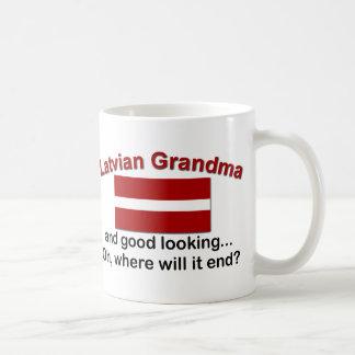 Good Lkg Latvian Grandma Coffee Mug